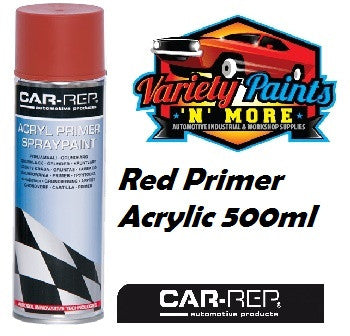 Car-Rep Acrylic Primer Red Aerosol 500ml