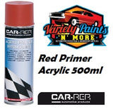 Car-Rep Acrylic Primer Red Aerosol 500ml Variety Paints N More