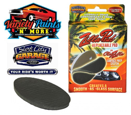 ClayZilla Replacement pad for Clayzilla Surface Prep System Surf City Garage