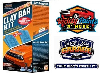 Enthusiast Grade Clay Bar Kit Surf City Garage
