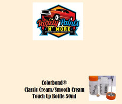 Colorbond Classic Cream/Smooth Cream  Touch Up Bottle 50ml