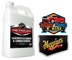 Meguiars Leather Cleaner & Conditioner 3.78 Litres