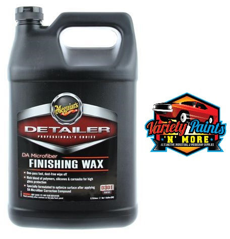 Meguiars DA Microfibre Finishing Wax 3.8 Litres