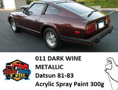 011 DARK WINE METALLIC  Datsun 81-83 Acrylic Spray Paint 300g