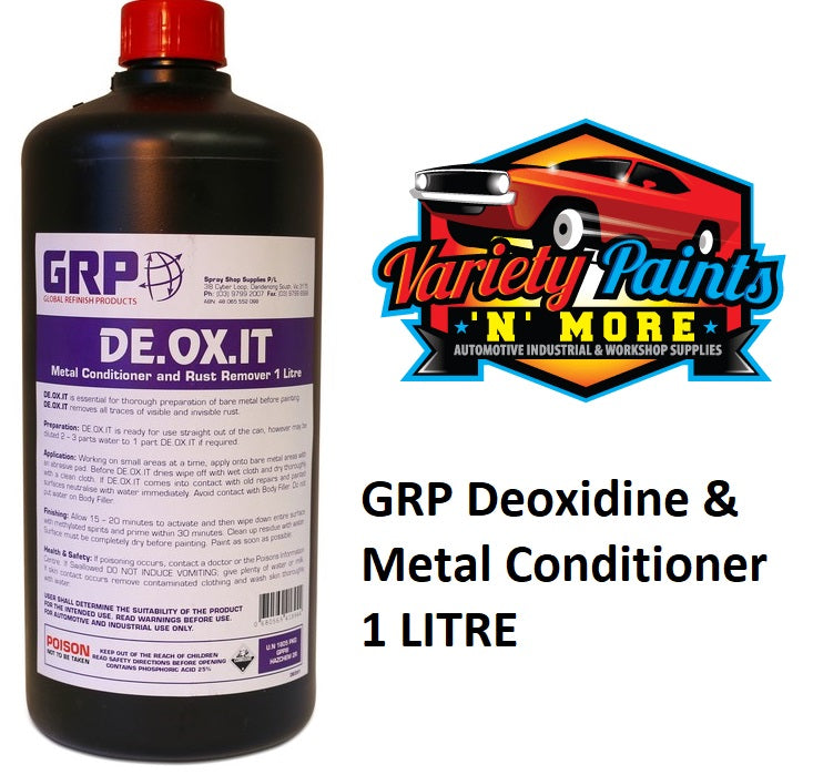 GRP Deoxidine & Metal Conditioner 1 LITRE