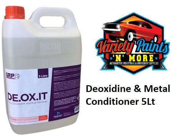 GRP Deoxidine & Metal Conditioner 5Lt