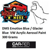 DM5 Emotion Blue / Glacier Blue VW/AUDI Acrylic Aerosol Paint 300 Grams