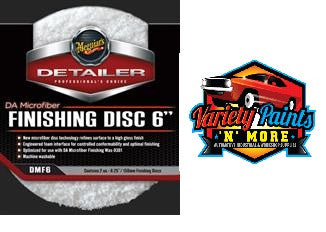 Meguiars DMF6-DA Microfiber Finishing Disc 6""