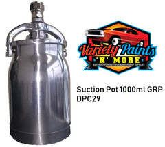 1 Litre Aluminium Pot FOR Suction Spray Gun