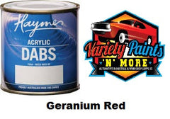 Haymes DABS Acrylic Paint Geranium Red 250ml
