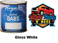 Haymes DABS Acrylic Paint Gloss White 250ml