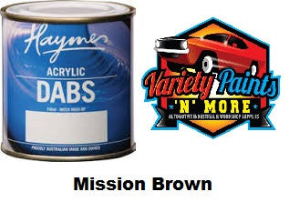 Haymes DABS Acrylic Paint Mission Brown 250ml