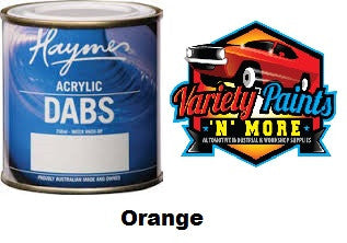 Haymes DABS Acrylic Paint Orange 250ml