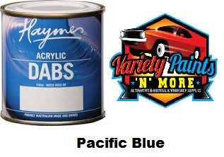 Haymes DABS Acrylic Paint Pacific Blue 250ml