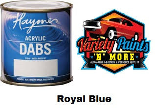 Haymes DABS Acrylic Paint Royal Blue 250ml