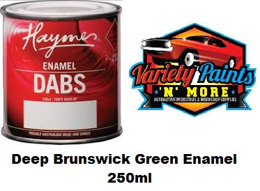 Haymes DABS Enamel Paint Deep Brunswick Green 250ml