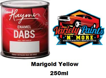 Haymes DABS Enamel Paint Marigold Yellow 250ml