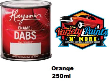 Haymes DABS Enamel Paint Orange 250ml