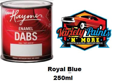Haymes DABS Enamel Paint Royal Blue 250ml