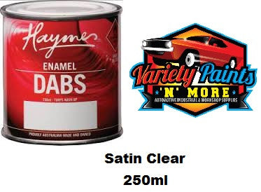 Haymes DABS Enamel Paint Clear Satin 250ml