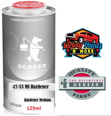 Debeers 125ML 2K HS Hardener Medium 8-150 1:2 PART B