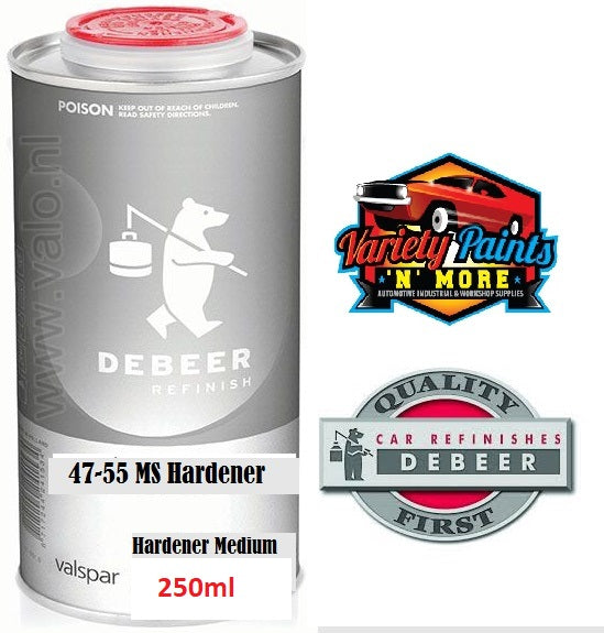 Debeers 250ml 2K Hardener 47-55 Std Medium 1:2 PART B