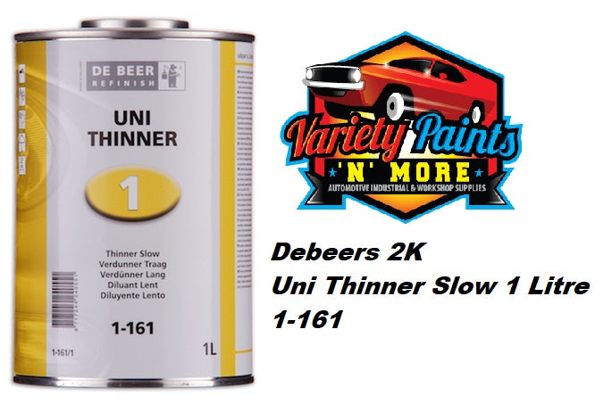 Debeer 2K Uni Thinner Slow 1 Litre 1-161