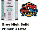 Debeers GREY High Solid 2-Pack Primer Surfacer HS 8-145 3 Litre