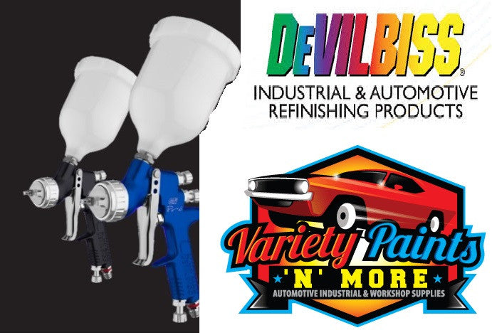 Devilbiss Blue GTI Pro Spray Gun 1.3 & 1.4 Nozzle TE20 Cap