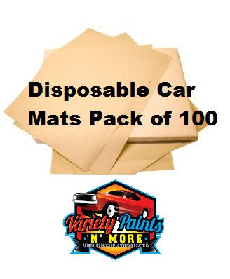 Disposable Matts Box of 100