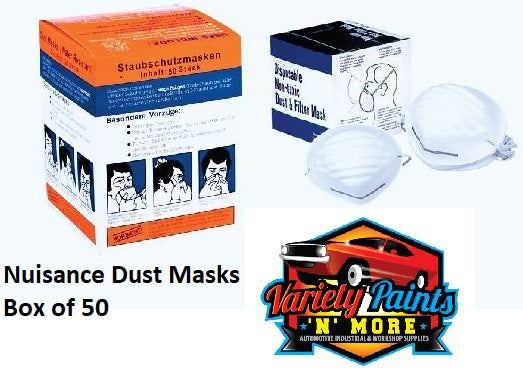 Nuisance Dust Masks Box of of  50