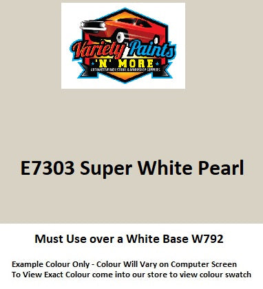E7303 Super White Pearl Spray Paint 300g