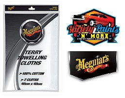 Meguiars Terry Toweling Polishing Towels 2 Pack