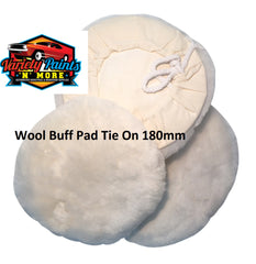 180mm Sheepskin Buff Pad GRP