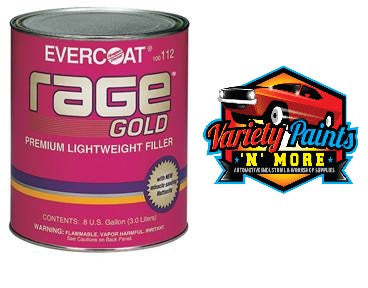 Evercoat Rage Gold Premium Body Filler 1 Gallon