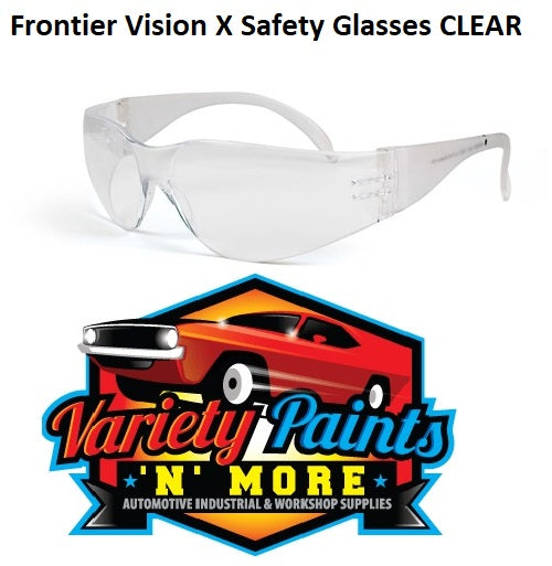 Frontier Safety Glasses Clear Vision X