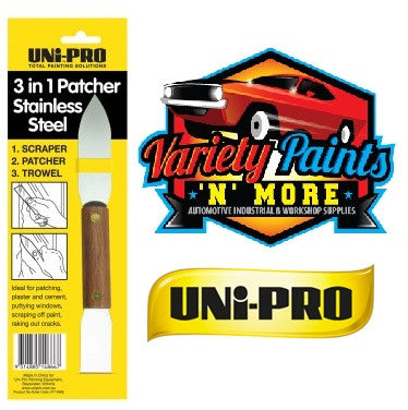 Unipro 3 in 1 Patcher Stainless Steel
