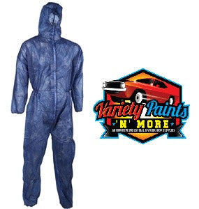 General Purpose Disposable  Coveralls Blue XXL