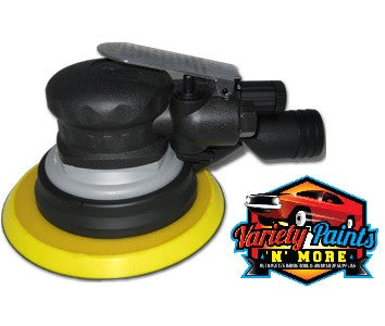 "AirPro 150mm 6"" Central Vacuum 5mm Orbital SANDER Velcro Pad 6 Hole SA4973"