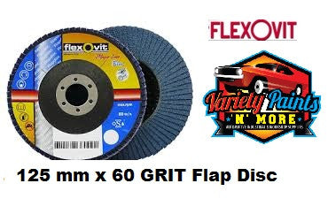 Flexovit Flap Disc 125mm x 60 Grit