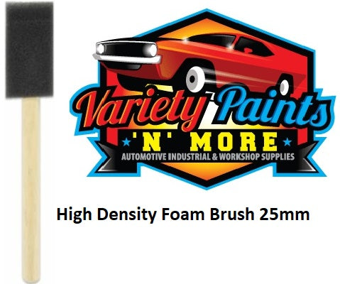 Unipro High Density Foam Brush 25mm