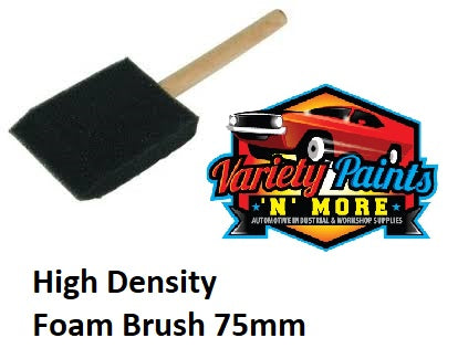 Unipro High Density Foam Brush 75mm