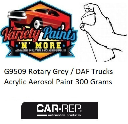 G9509 Rotary Grey / DAF Trucks Acrylic Aerosol Paint 300 Grams
