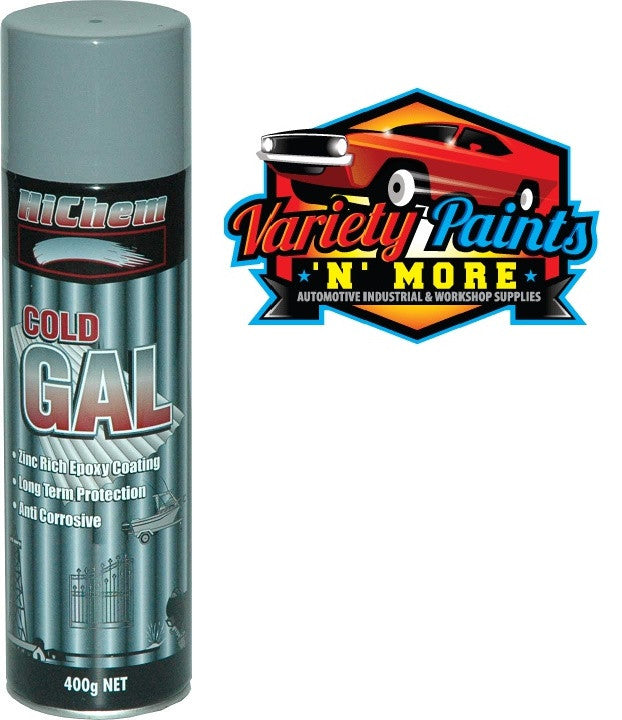Hichem Grey Galvanising Spray Paint 400 Gram