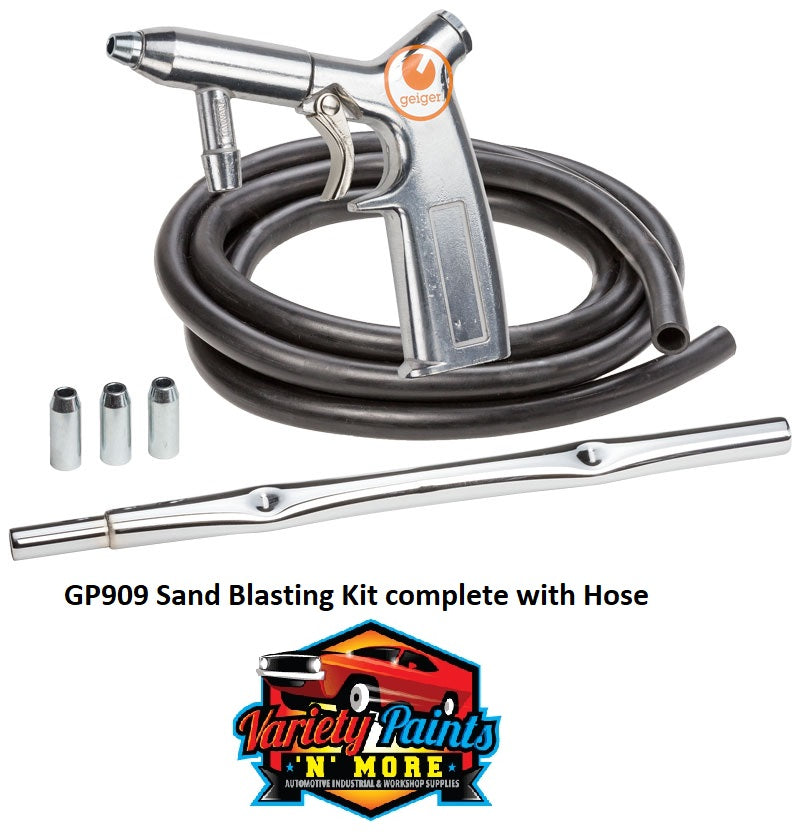 Sand Blasting Kit complete with Hose