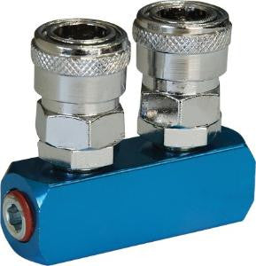 Geiger 2 Way Quick Coupler Inline