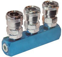 Geiger 3 Way Quick Coupler Inline
