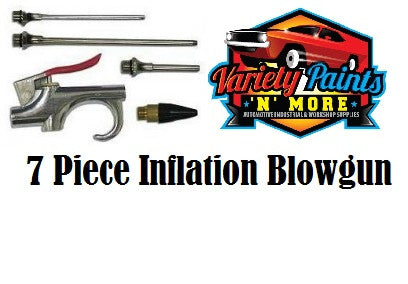 Geiger 7 Piece Inflation Blowgun