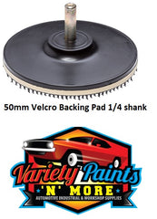 50MM VELCRO BACKING PAD 1/4 SHANK