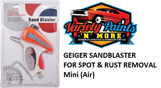 Geiger Sandblaster for Spot & Rust Removal